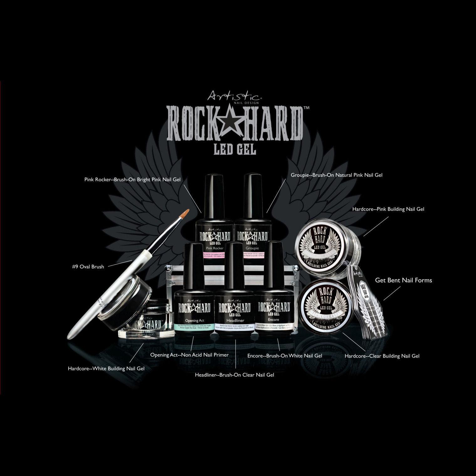 Review Of Artist Design : Artistic nail design rock hard starter kit