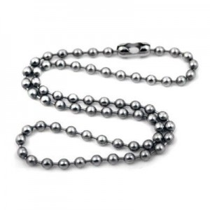 Stainless Steel Ball Chain Lanyard