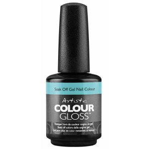 Artistic Colour Gloss Soak-Off Gel Colour - Resting Beach Face - (15ml.5 fl oz) - 2100107